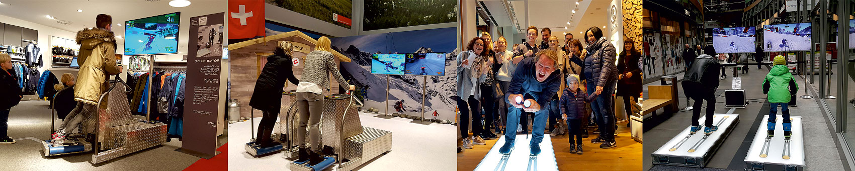 Ski Simulator & Wintersport Eventmodule