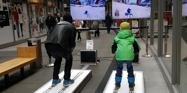 ALPICON SKI SIMULATOR mieten (Twin Version)