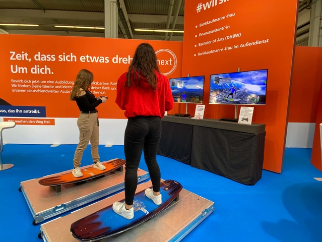 Virtual Surfsimulator mieten (Single Version)