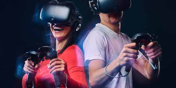 VR Virtual Reality Game Arena 360°