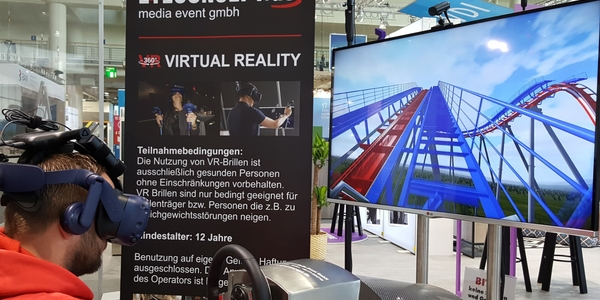 VR Achterbahn Simulator 360° (Single Version)
