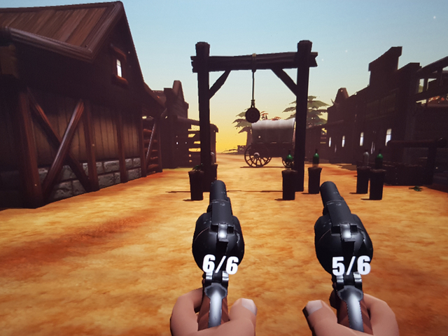 VR Wild West Shooting